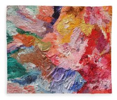 Birth Of Passion Fleece Blanket