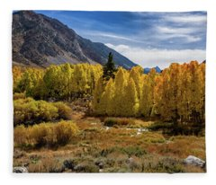 Bishop Creek Aspen Fleece Blanket