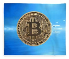 Bitcoin Revolution Fleece Blanket