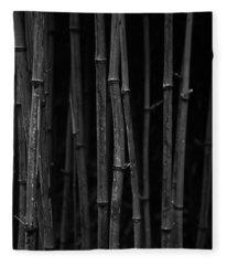 Black Bamboo Fleece Blanket