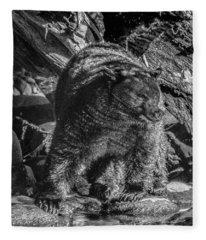 Black Bear Creekside Fleece Blanket