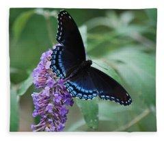Black Beauty Fleece Blanket