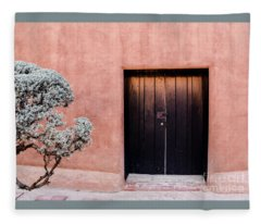 Black Door Fleece Blanket