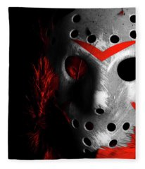 Black Friday The 13th  Fleece Blanket