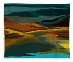 Black Hills Abstract Fleece Blanket