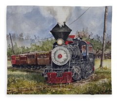Black Hills Central Number 7 Fleece Blanket