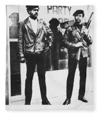 Black Panther Poster, 1968 Fleece Blanket