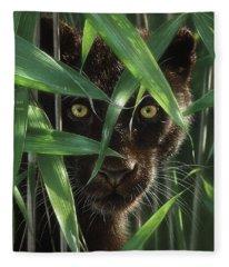 Black Panther - Wild Eyes Fleece Blanket