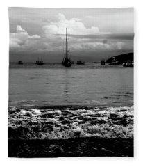 Black Sails Fleece Blanket