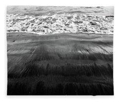 Black Sands  Fleece Blanket
