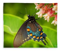 Black Swallowtail #1 Fleece Blanket