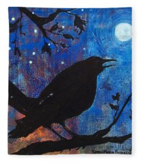 Blackbird Singing Fleece Blanket