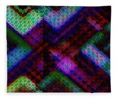 Blacklight 727 Fleece Blanket
