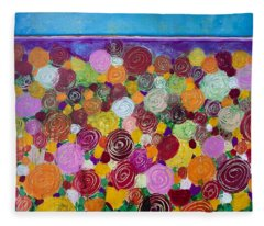 Blanket Of Blooms Fleece Blanket