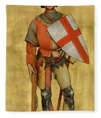 Blanket Of The Armed Saint George Guild Fleece Blanket