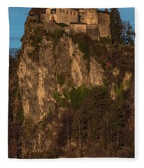 Bled Castle Mountain Fleece Blanket