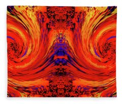 Blodger Abstract Fleece Blanket