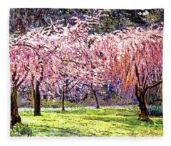 Blossom Fantasy Fleece Blanket