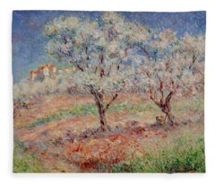 Blossom Trees  Fleece Blanket
