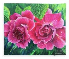Blossom Buddies Fleece Blanket
