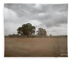Blowing Up A Storm Fleece Blanket