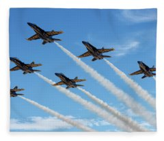 Blue Angels Delta Fleece Blanket