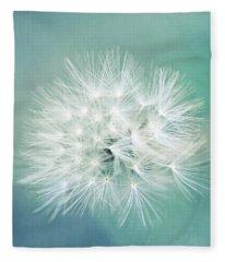Blue Awakening Fleece Blanket