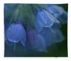 Blue Bells Fleece Blanket