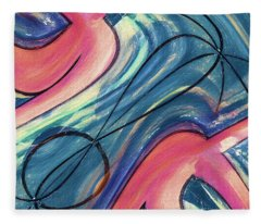 Blue By You 3 Fleece Blanket