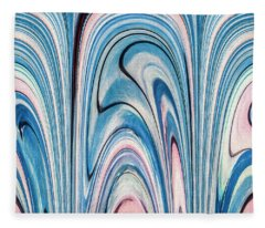 Blue By You 5 Fleece Blanket