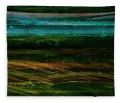 Blue Canoe Fleece Blanket