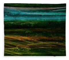 Blue Canoe Fleece Blanket