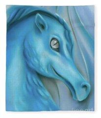 Blue Dragon Fleece Blanket