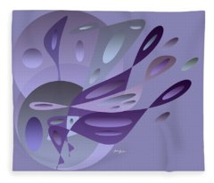 Blue Dreams Fleece Blanket