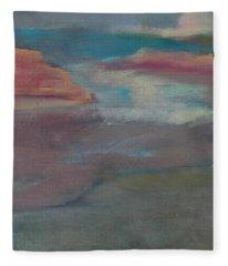 Blue Dune Fleece Blanket