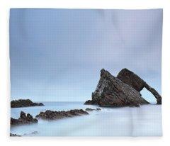 Blue Fiddle Fleece Blanket