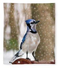 Blue For You Fleece Blanket