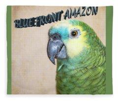 Blue Front Amazon Fleece Blanket