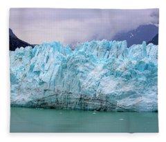 Blue Glacier Fleece Blanket