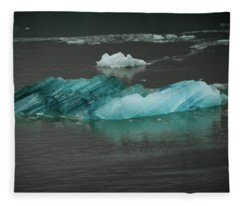Blue Iceberg Fleece Blanket
