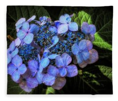 Blue In Nature Fleece Blanket