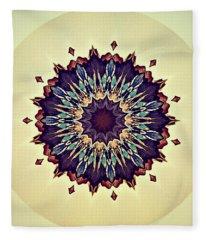 Blue Iris Fleece Blanket