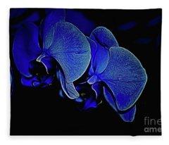 Blue Light Fleece Blanket