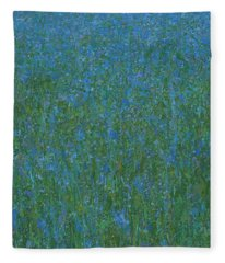 Blue Meadow 1 Fleece Blanket