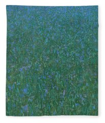 Blue Meadow 2 Fleece Blanket