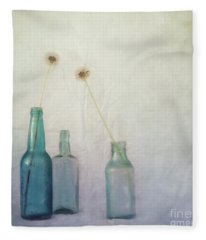 Blue Memories Fleece Blanket