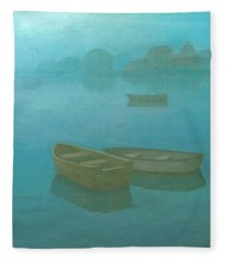 Blue Mist Fleece Blanket