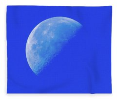 Blue Moon Fleece Blanket