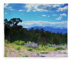 Blue Mountain West Fleece Blanket