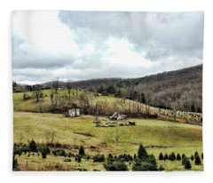 Blue Ridge Homestead Fleece Blanket